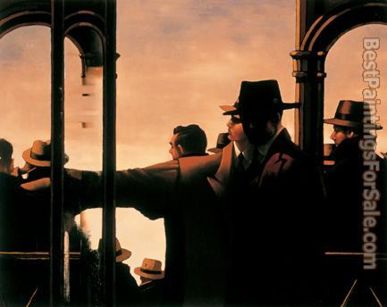 Jack Vettriano Evening Racing