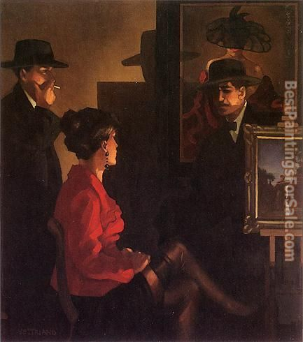 Jack Vettriano Fair Exchange is No Robbery