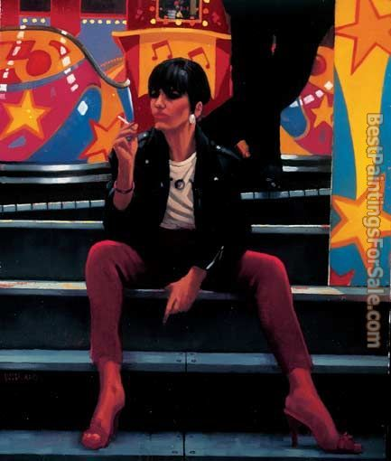 Jack Vettriano Queen of the Waltzer