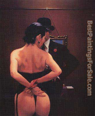 Jack Vettriano Scarlet Ribbons Lovely Ribbons