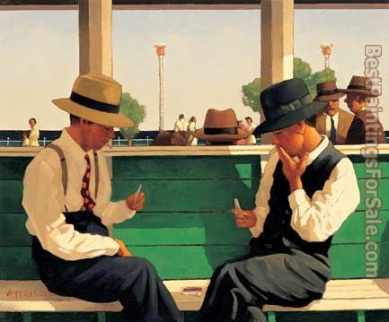 Jack Vettriano The Duellists