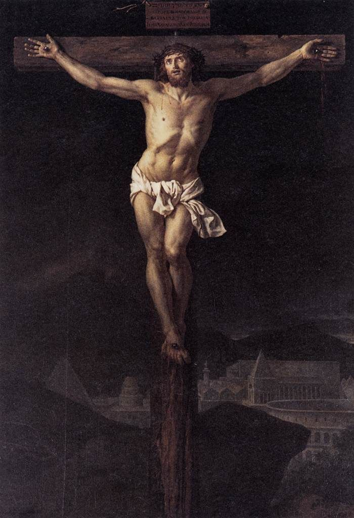 Jacques-Louis David Christ on the Cross