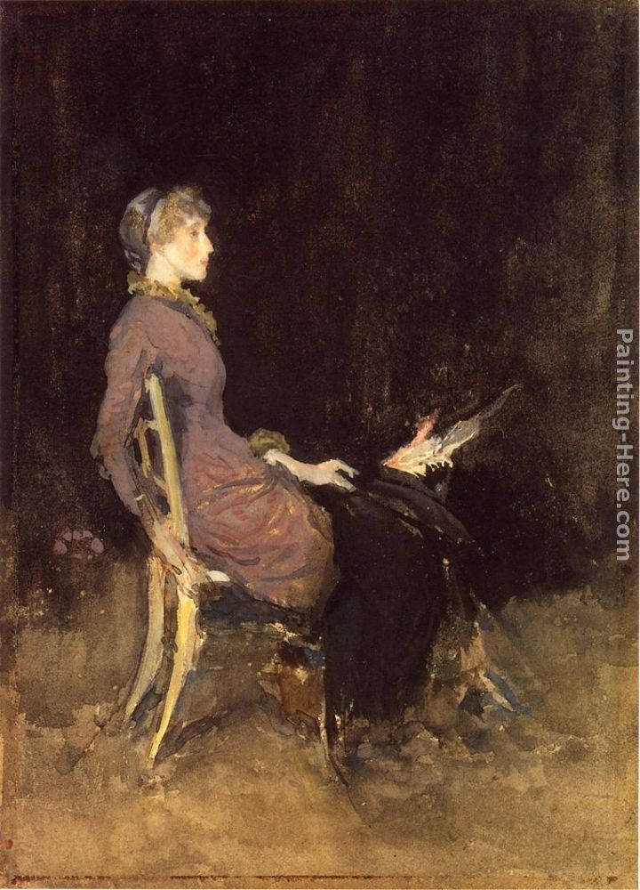 James Abbott McNeill Whistler Black and Red