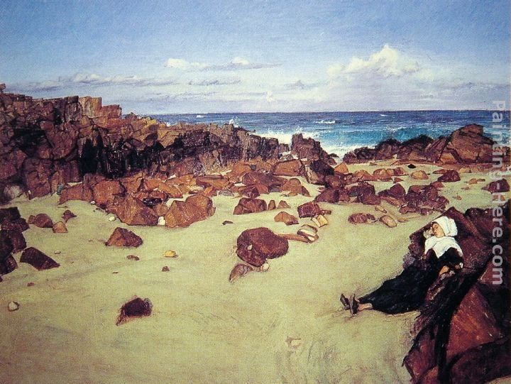 James Abbott McNeill Whistler The Coast of Brittany