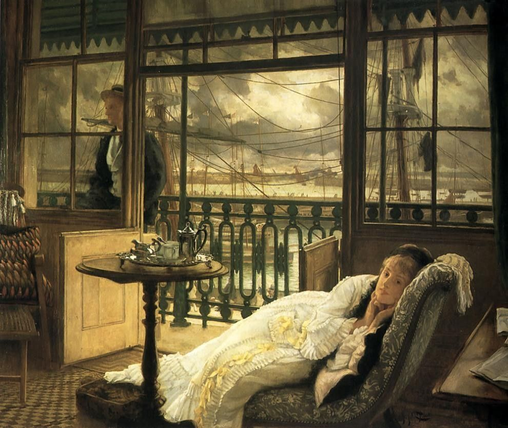 James Jacques Joseph Tissot A Passing Storm