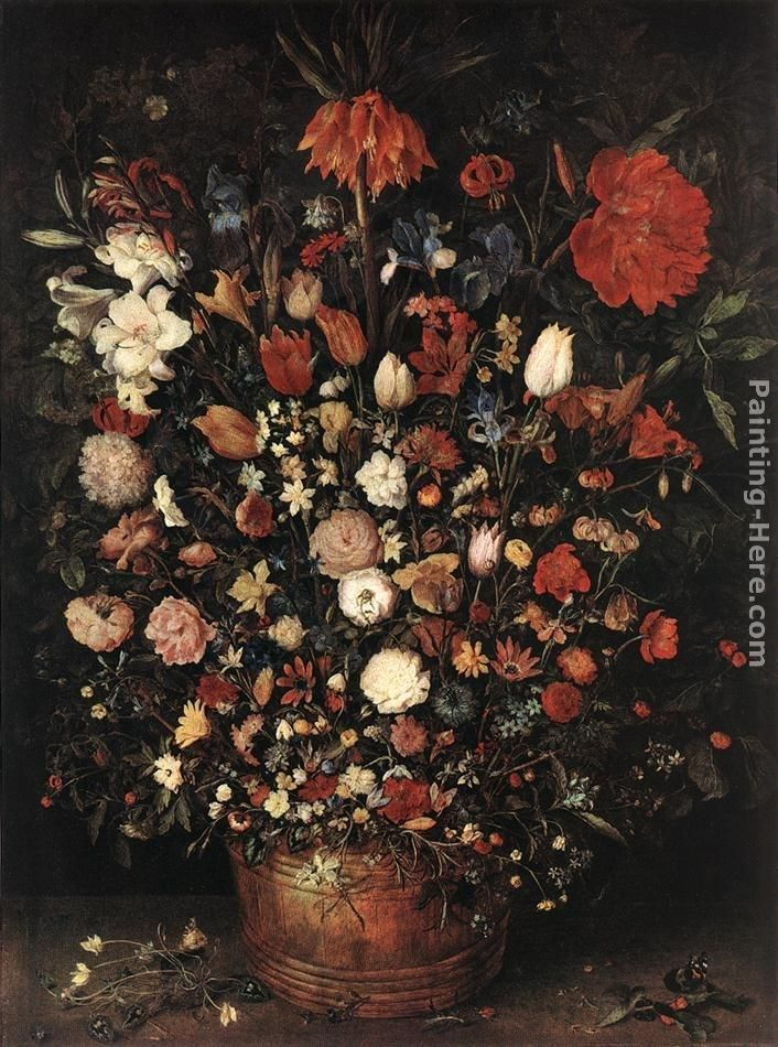 Jan the elder Brueghel The Great Bouquet