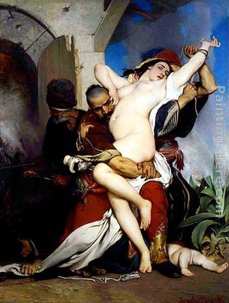 Jaroslav Cermak The Abduction of a Herzegovenian Woman