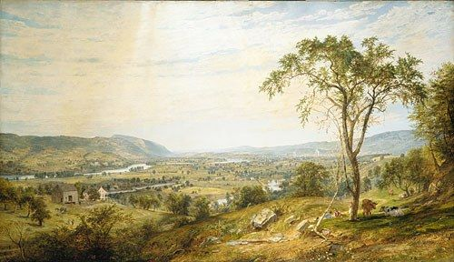 Jasper Francis Cropsey The Valley of Wyoming