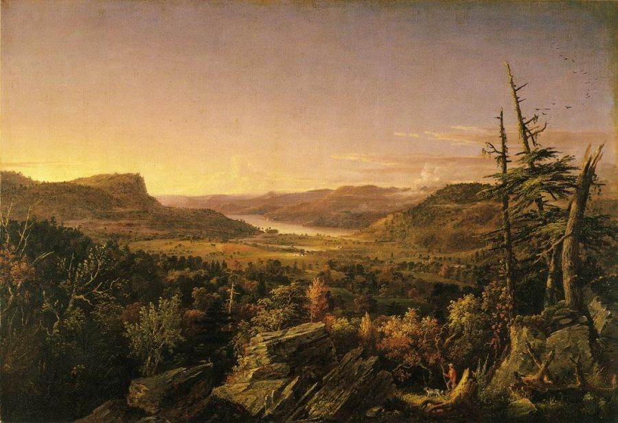 Jasper Francis Cropsey View of Greenwood Lake, New Jersey