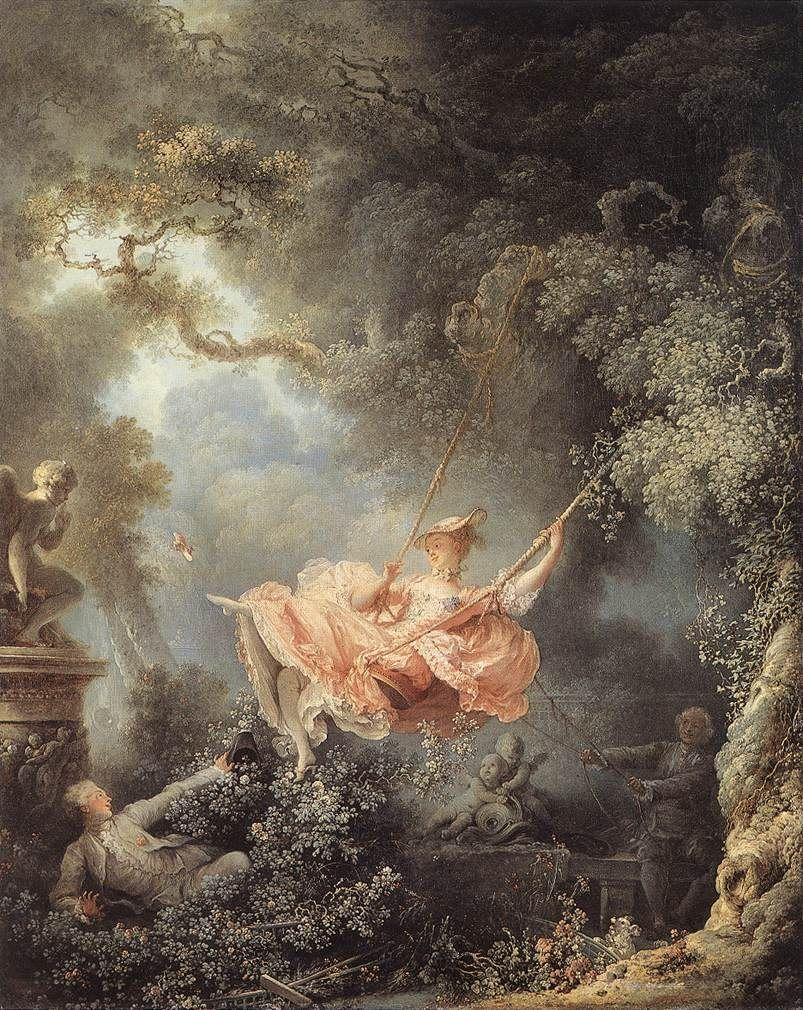 Jean Fragonard The Swing