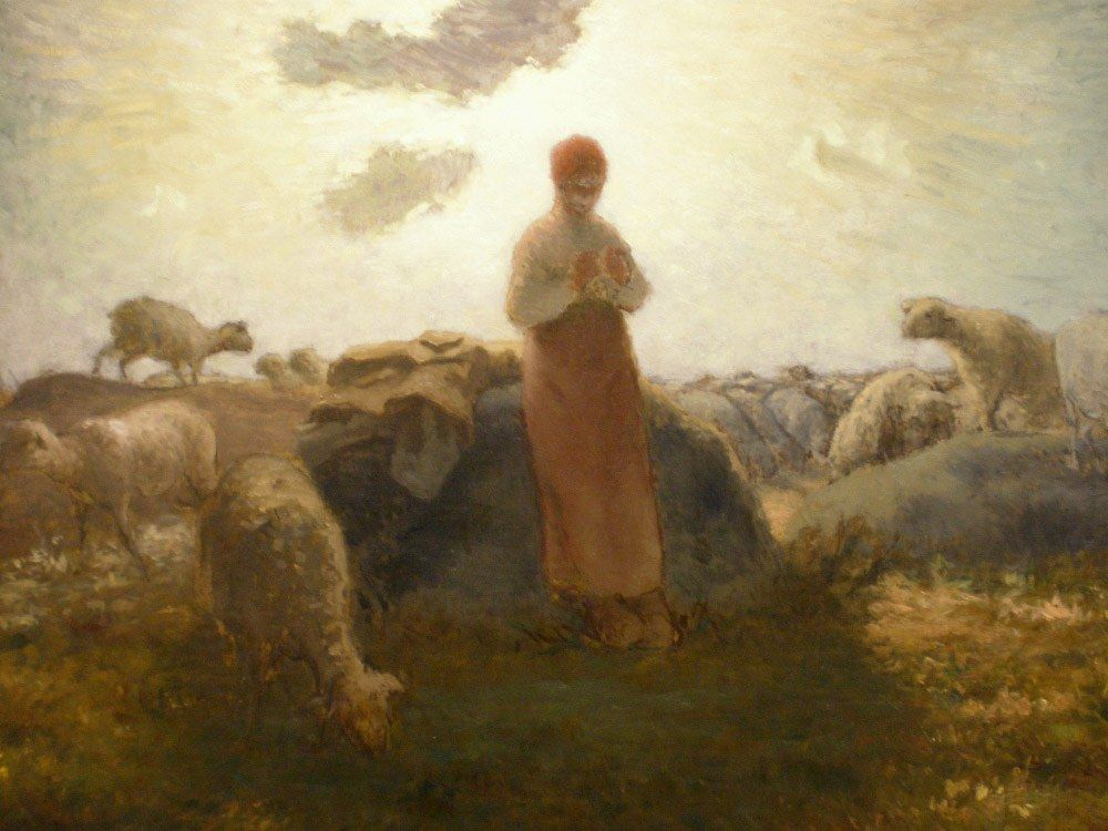 Jean Francois Millet Keeper of the Herd