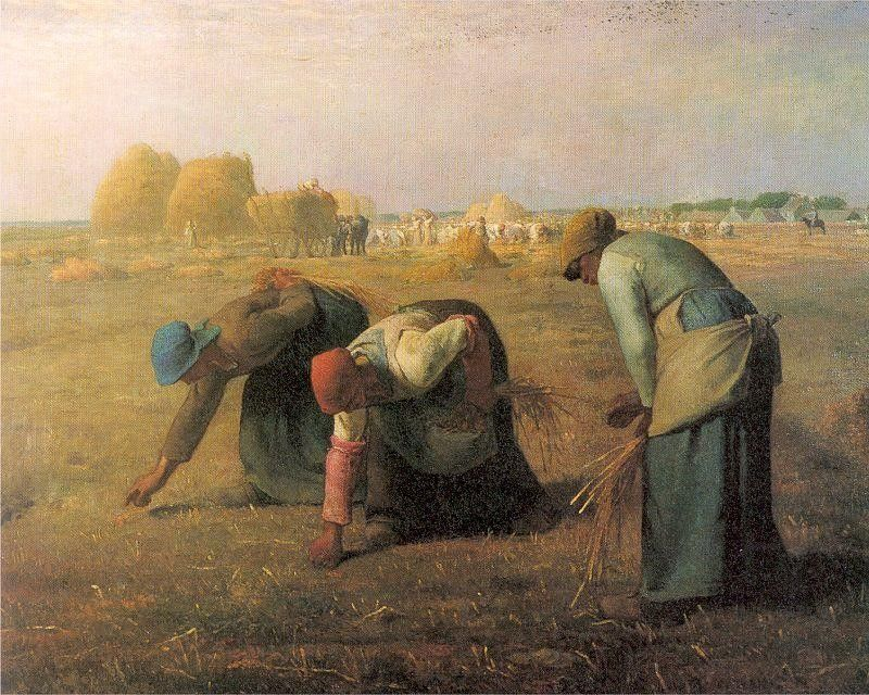 Jean Francois Millet The Gleaners