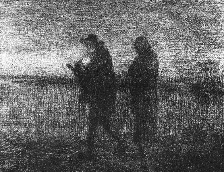 Jean Francois Millet The flight into Egypt