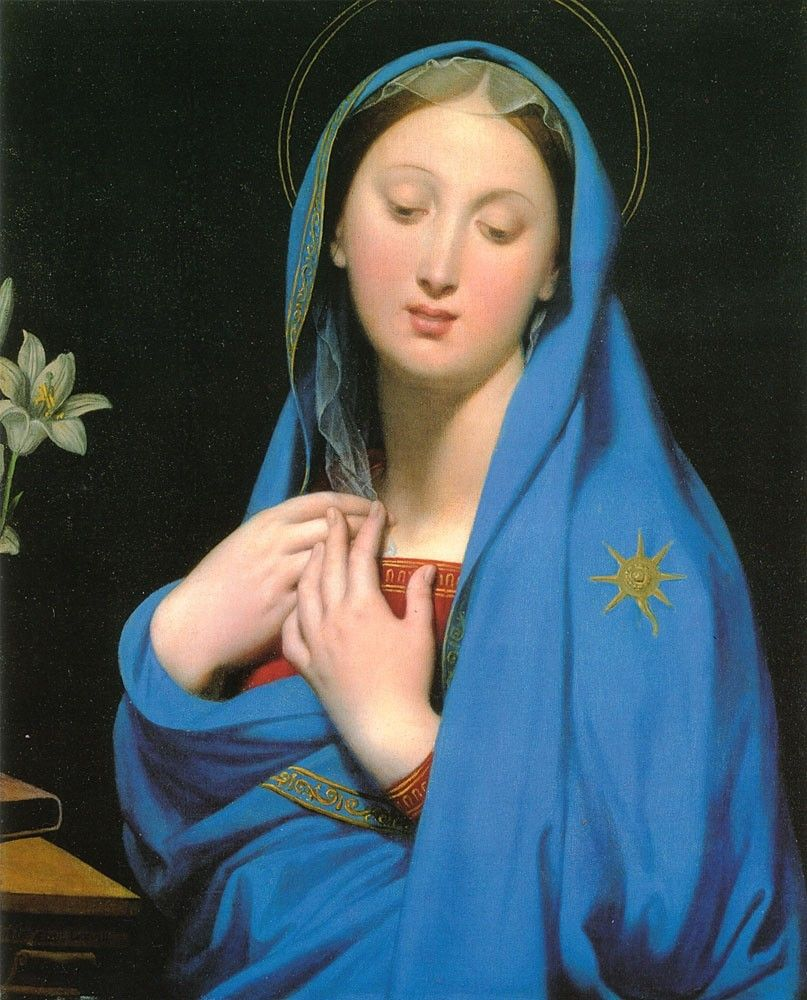 Jean Auguste Dominique Ingres Virgin of the Adoption