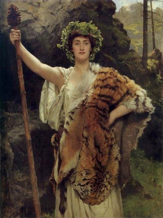 John Collier The Priestess of Bacchus