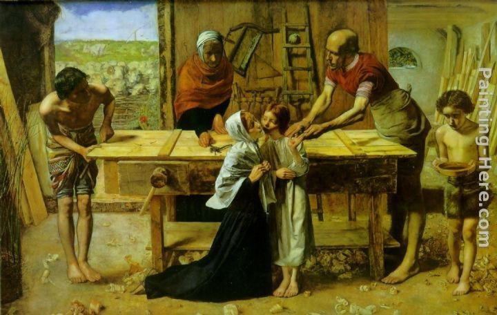 John Everett Millais Christ in the House of His Parents