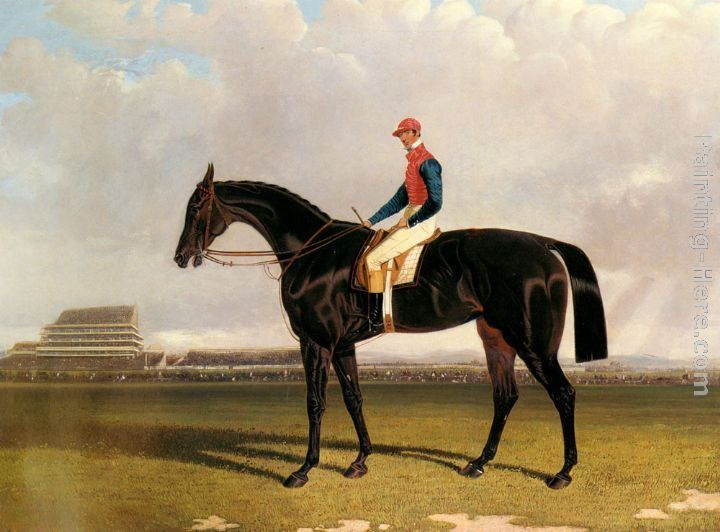 John Frederick Herring Snr Lord Chesterfield's Industry with William Scott up at Epsom