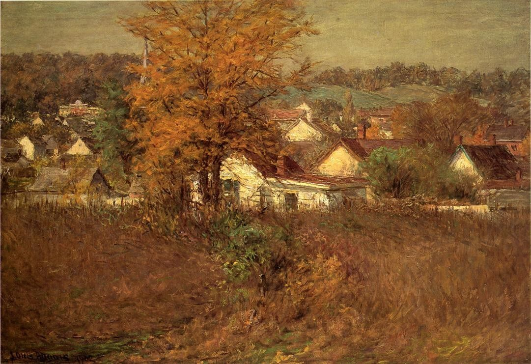 John Ottis Adams Our Village 1902