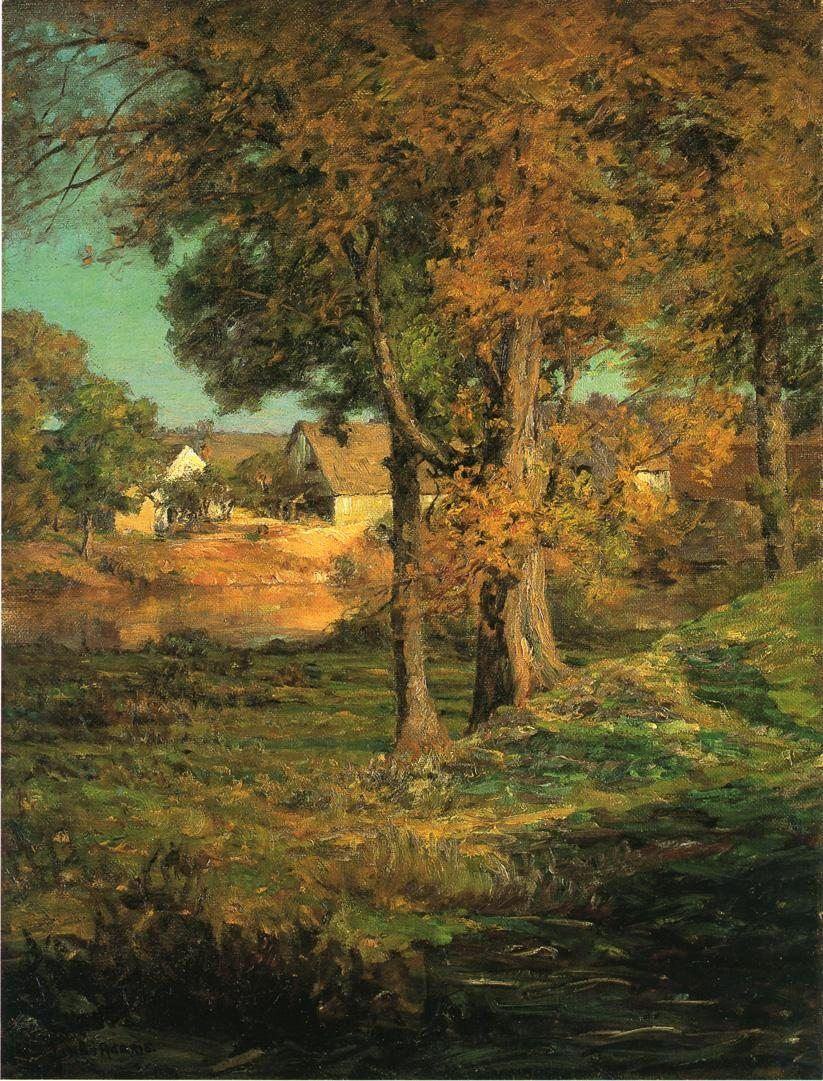 John Ottis Adams Thornberry's Pasture Brooklyn Indiana