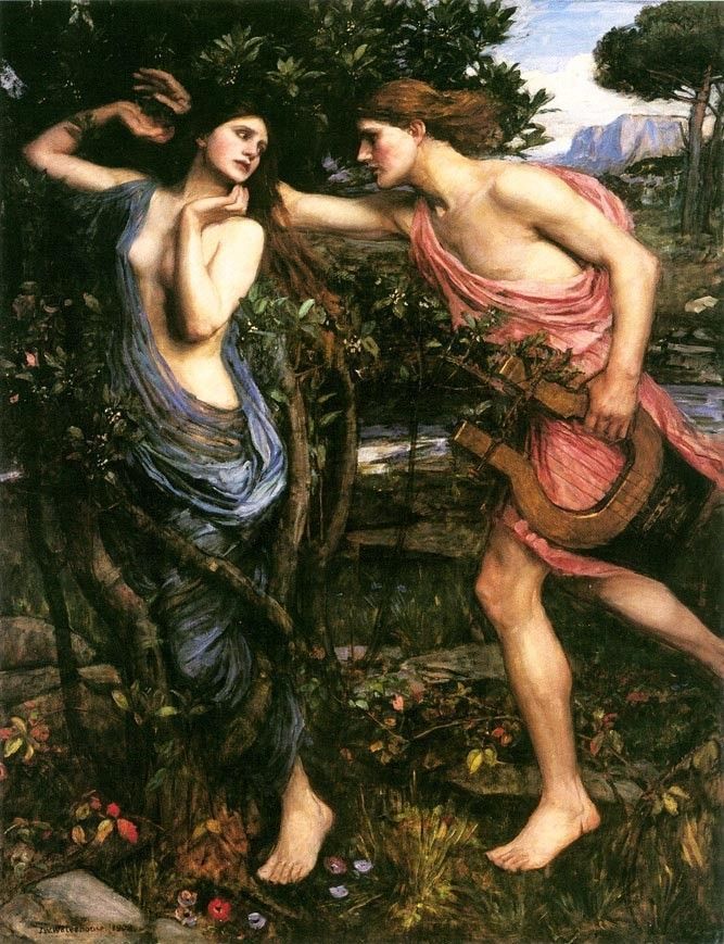 John William Waterhouse Apollo and Daphne