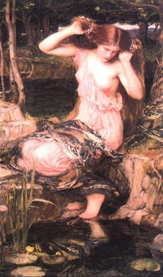 John William Waterhouse Lamia