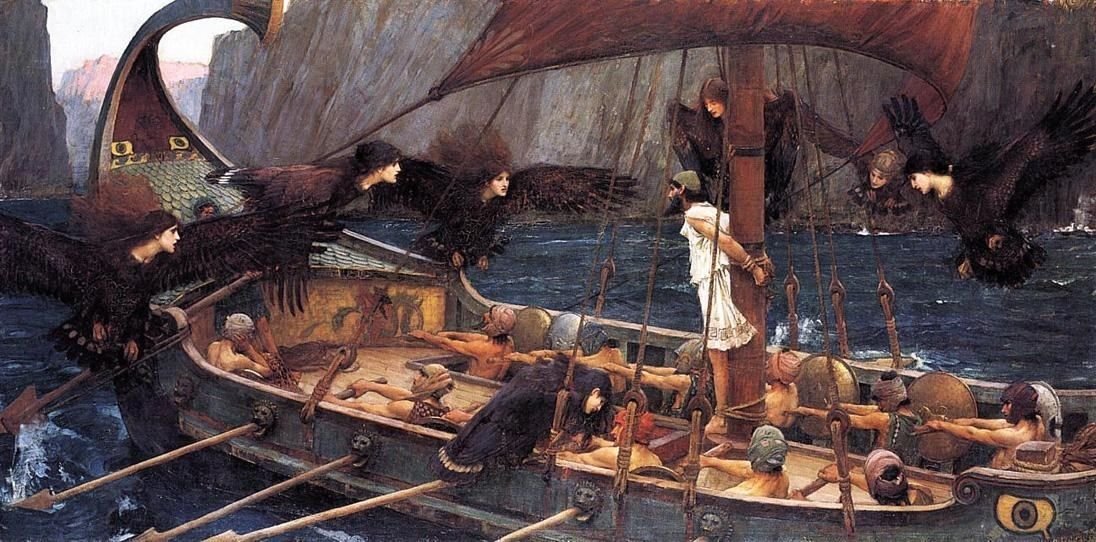 John William Waterhouse Odysseus and the Sirens