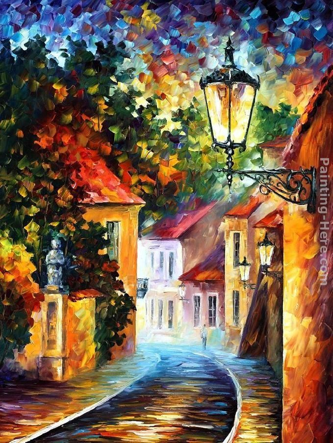 Leonid Afremov EVENING
