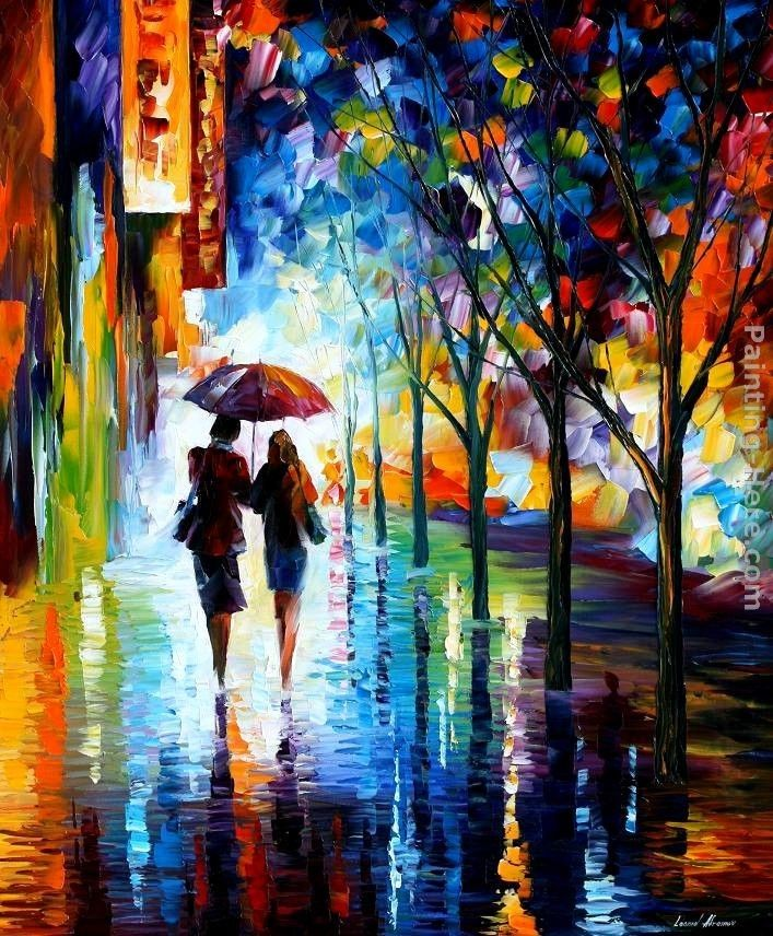 Leonid Afremov INVITATION