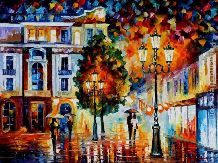 Leonid Afremov LONLEY COUPLES