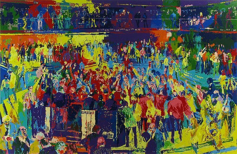 Leroy Neiman Chicago Board of Trade