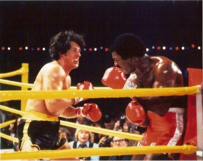 Leroy Neiman Rocky II vs. Apollo