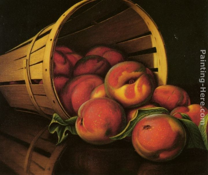 Levi Wells Prentice Basket of Peaches
