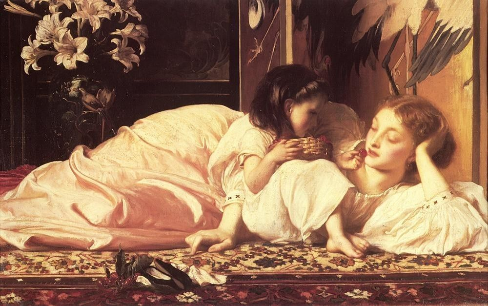 Lord Frederick Leighton Leighton Mother and Child