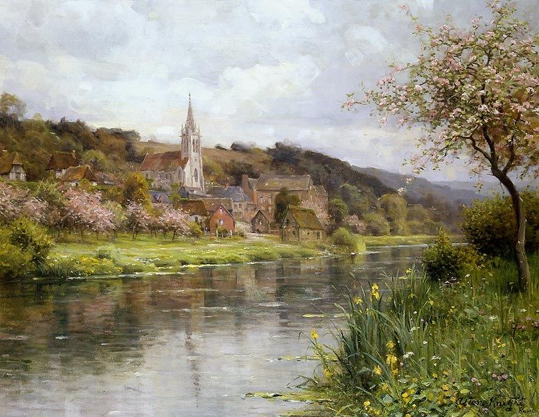 Louis Aston Knight Along the Seine