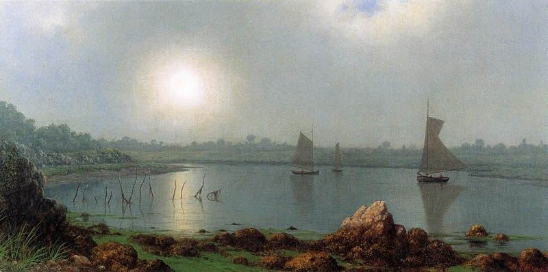 Martin Johnson Heade York Harbor, Coast of Maine