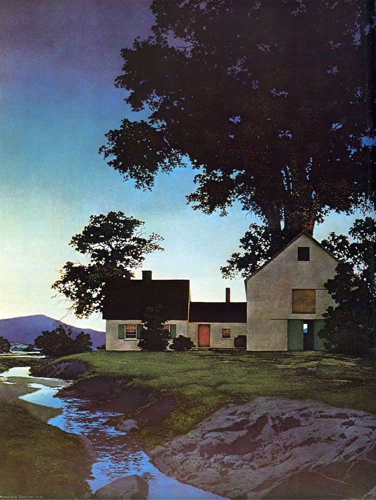 Maxfield Parrish Twilight