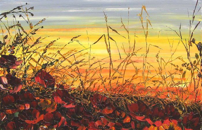 Maya Eventov Vibrant Sunset
