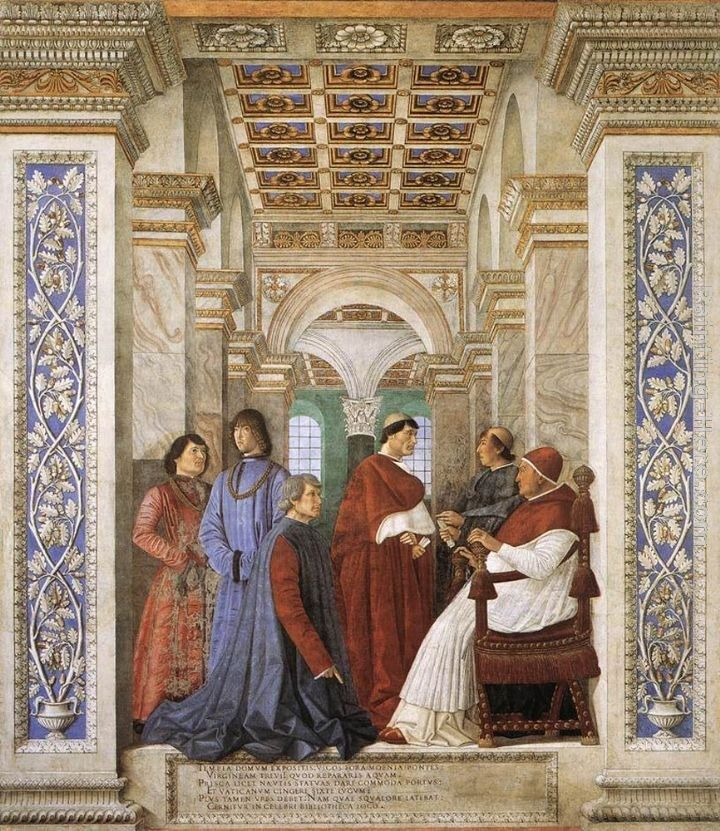 Melozzo Da Forli Foundation of the Library