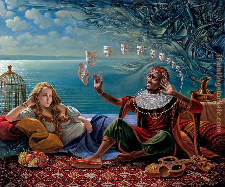 Michael Cheval Lullaby For Desdemona II