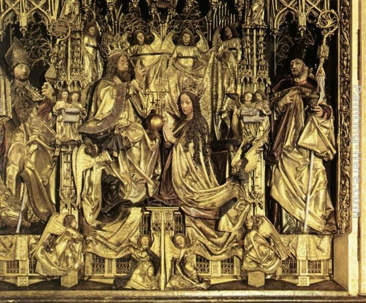 Michael Pacher Coronation of the Virgin