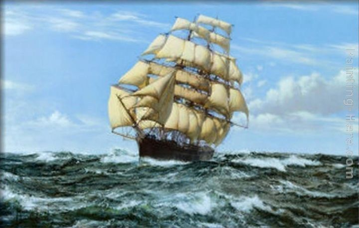 Montague Dawson Racing Home, The Cutty Sark