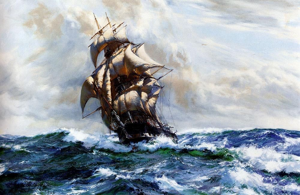 Montague Dawson The Marco Polo