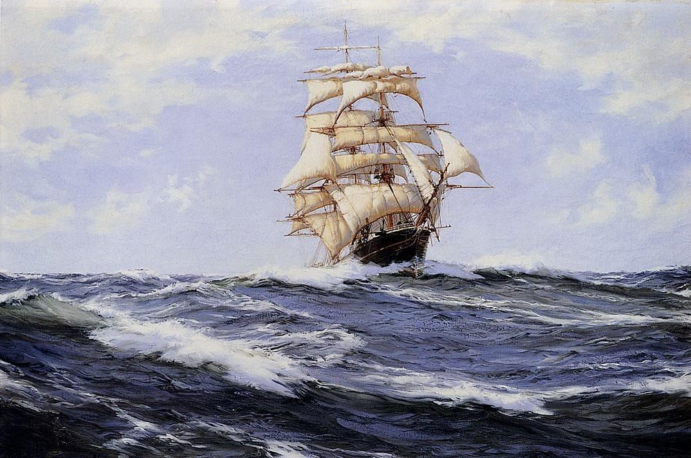 Montague Dawson The Torrens