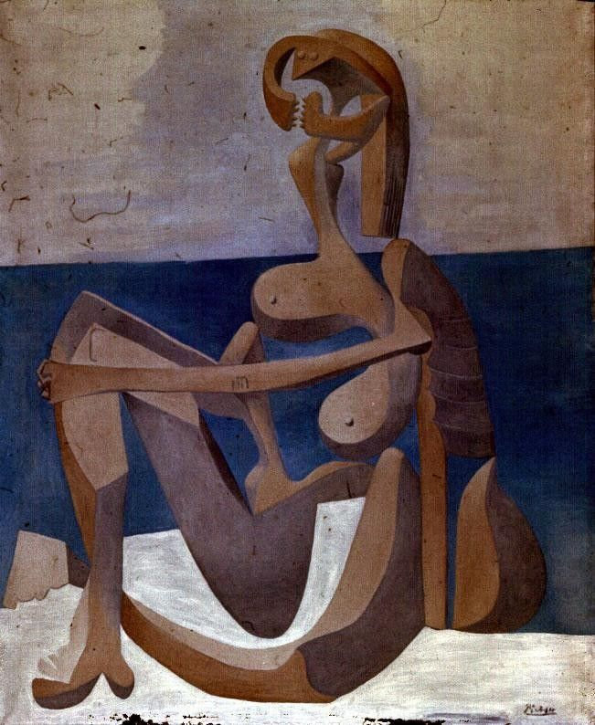 Pablo Picasso Seated Bather