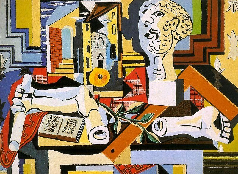 Pablo Picasso Studio with Plaster Head
