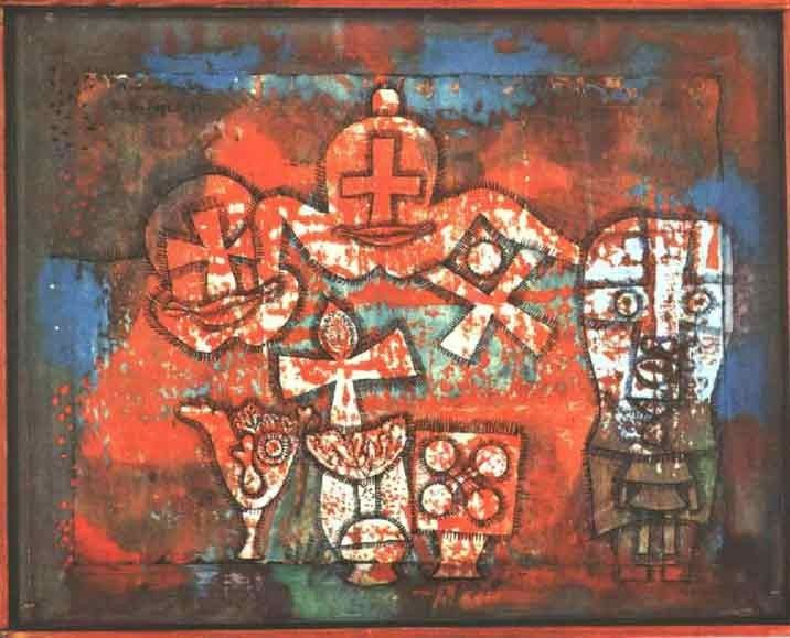 Paul Klee Chinese Porcelain
