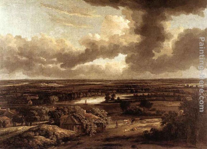 Philips Koninck Dutch Landscape Viewed from the Dunes