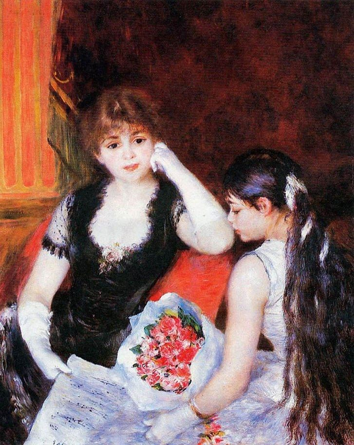 Pierre Auguste Renoir At the Concert