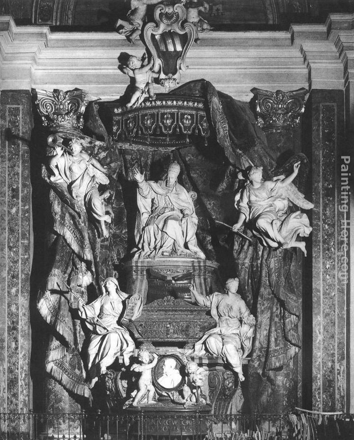 Pierre Etienne Monnot Monument of Pope Gregory XV