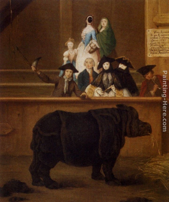 Pietro Longhi The Rhinoceros